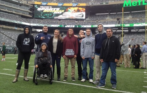 Marketing Class Attends First Annual Jets Business Day
