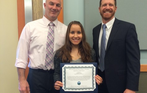 Shore Senior Awarded the Caring Award