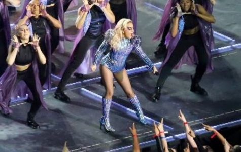 Lady Gaga dazzles at the Super Bowl half time show