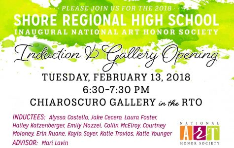 SRHS National Art Society to hold induction ceremony