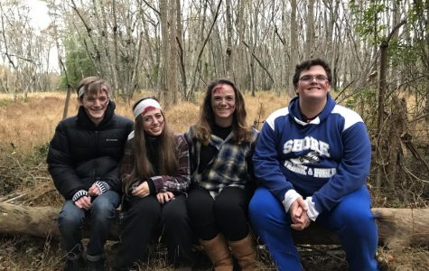 Interact scares at Allaire State Park Haunted Hayride