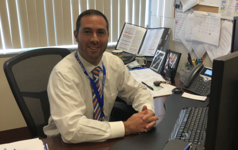Mr. Bruccoleri kicks off his fourth year as Assistant Principal of Shore Regional