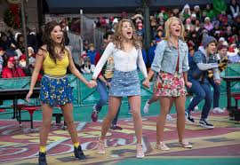 The cast of Mean Girls performing at the 2018 Macy's Thanksgiving Day Parade (playbill.com)